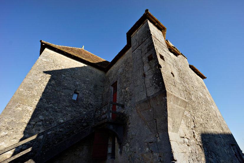 Le vieux château et son donjon