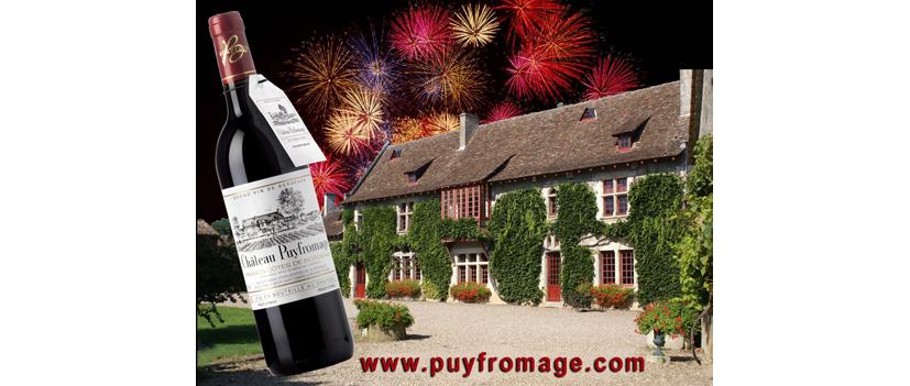 Ouverture officielle du nouveau site internet du Château Puyfromage