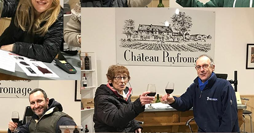 Happy new year 2021 from Château Puyfromage ! Wine from Bordeaux